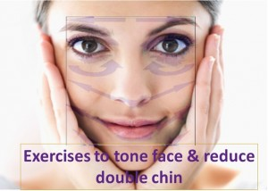 Exercises To Tone Face And Reduce Double Chin