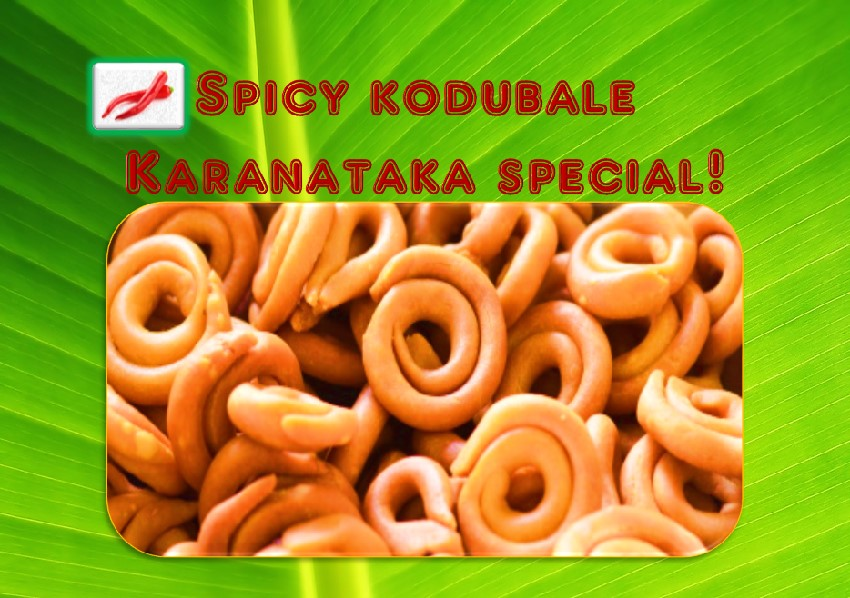 Spicy Kodubale