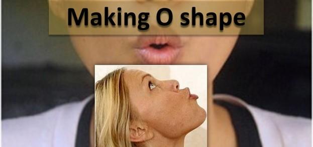 Making O Shape