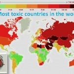 Toxic countries in the world