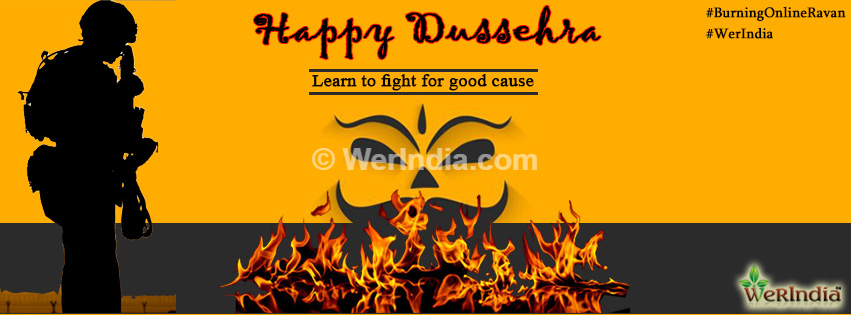Burning Online Ravan – Dussehra Celebrations with WerIndia