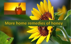 Home remedies of honey