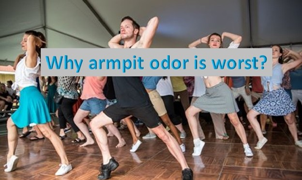 Why does armpit sweat smell worse than other places?