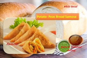 Bread Samosa recipe