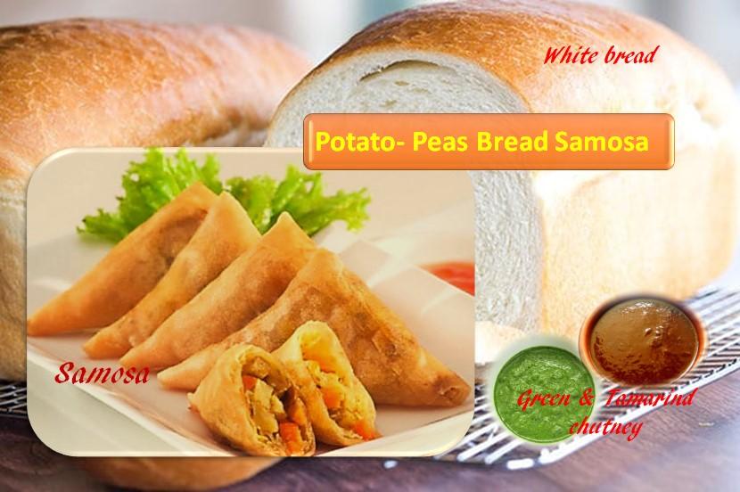 Bread Samosa recipe