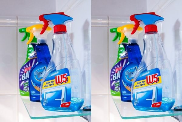 Household chemicals and children safety