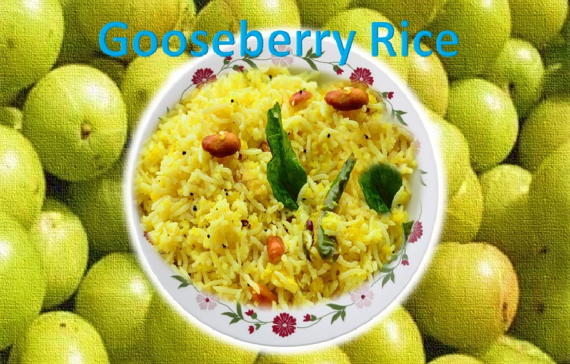 Indian gooseberry rice