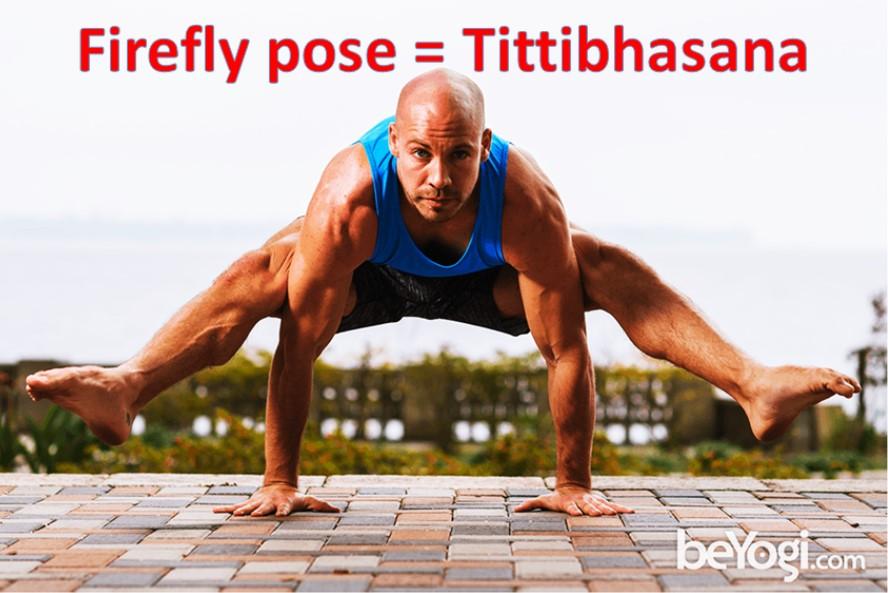 Firefly pose Tittibhasana