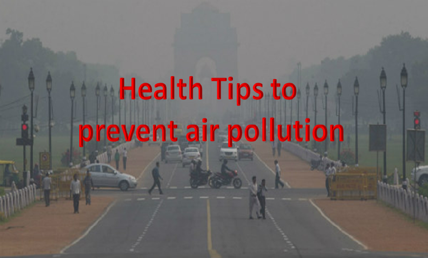 Health tips to prevent air pollution