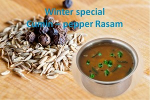 Cumin pepper rasam