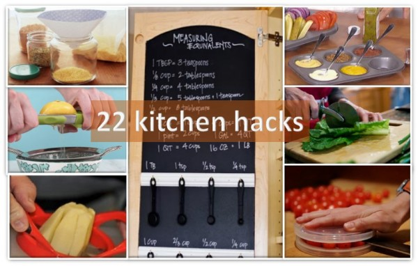 These 22 kitchen hacks make life easy