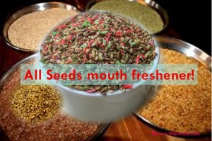 All seeds mouth freshener