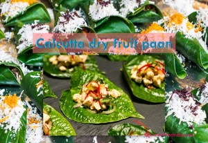Calcutta Dry Fruit Paan