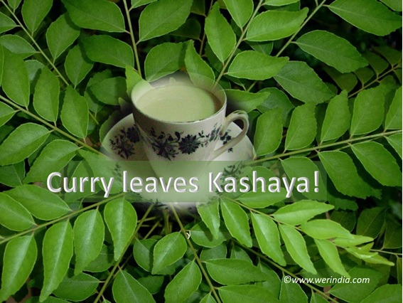 Curry Leaves Kashaya
