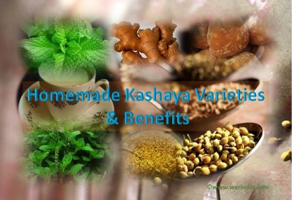Homemade Kashaya Varieties and Benefits