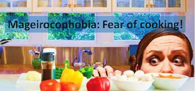 Mageirocohobia - Fear of Cooking