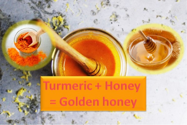 Turmeric and Honey Mix