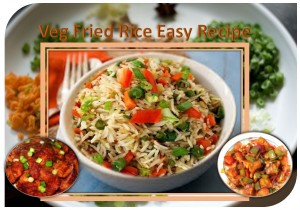 Easy to prepare veg fried Rice