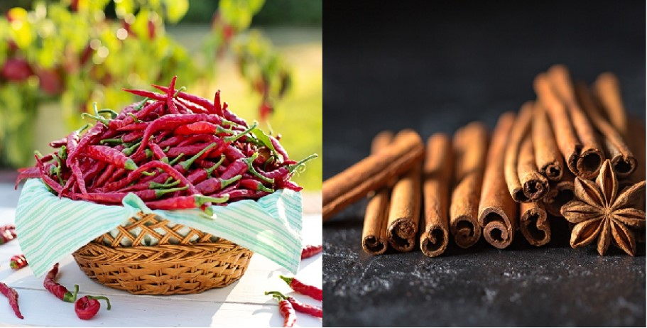 Hot Peppers And Cinnamon