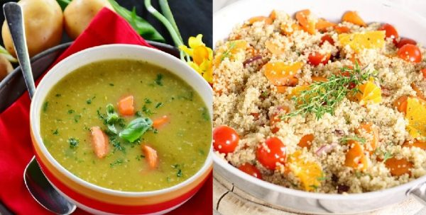 Quinoa And Soup