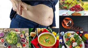 Food recommendation to reduce belly fat, inflammation & weight