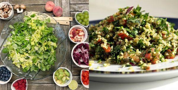 Tabouli And Veg Salad