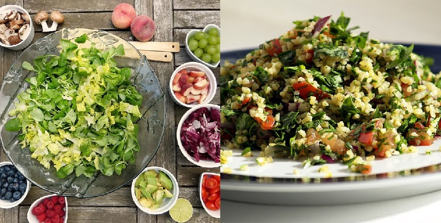Tabouli And Veg Salad