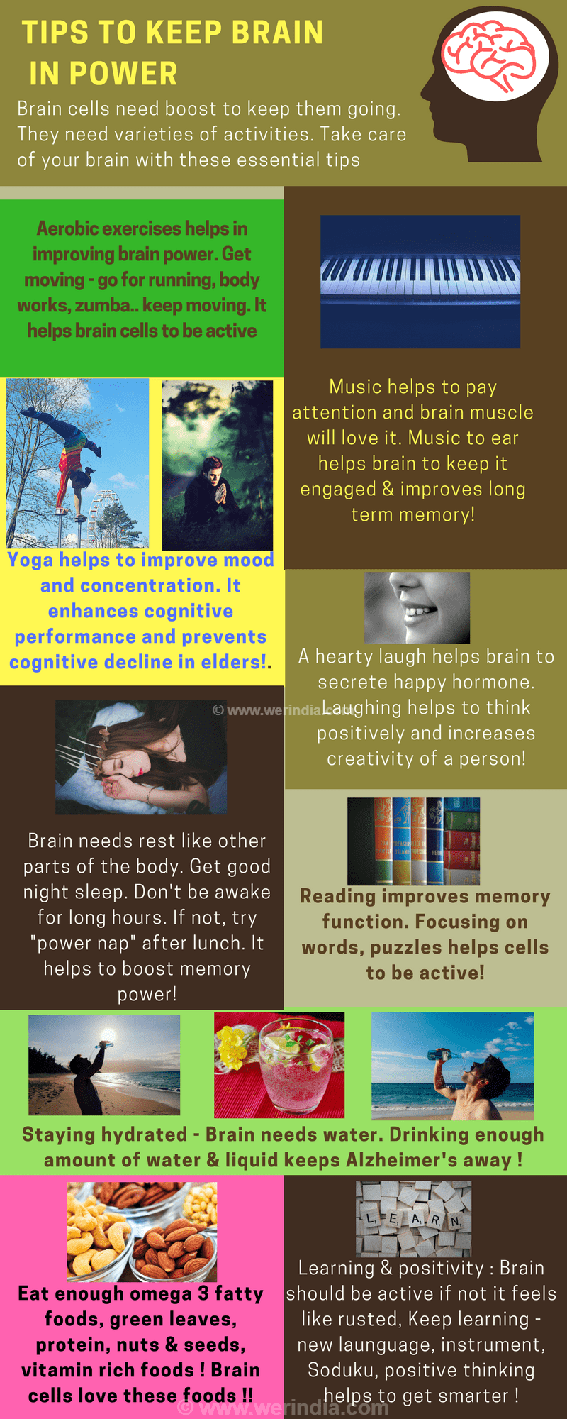 Tips to keep brain in power