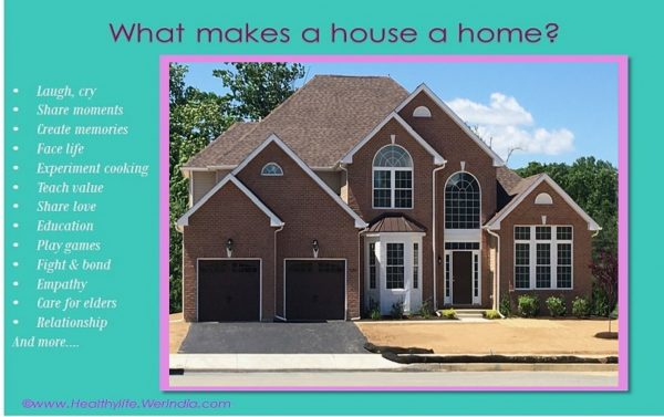 What makes a home