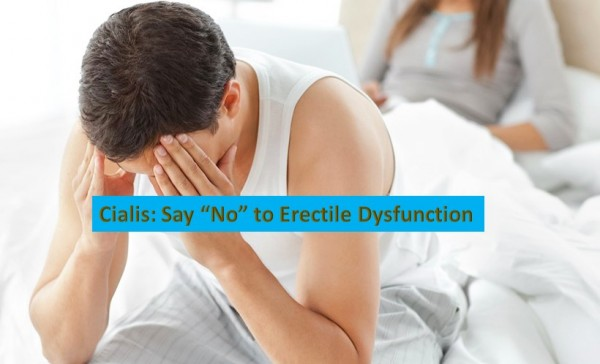 "Cialis: Say ""No"" to Erectile Dysfunction"