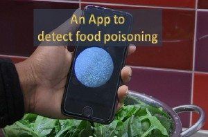 Smartphone App to detect food poisoning