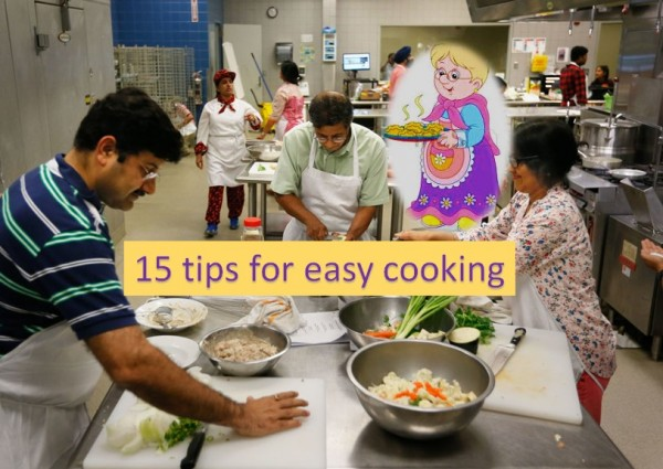 15 Easy cooking tips