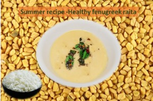 Healthy Fenugreek Raita
