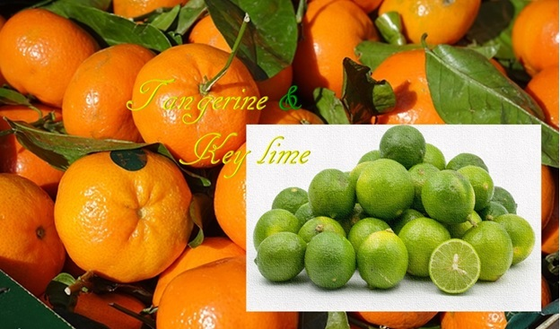 Tangerine and Key Lime