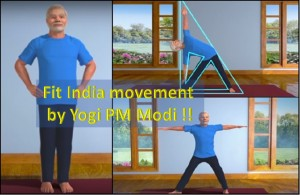 Fit India movement by Yogi Narendra Modi