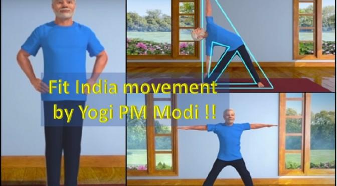 Fit India movement by Yogi Narendra Modi