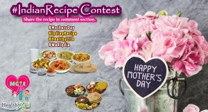 Winner of Mothers' Day Special Recipe Contest 2018