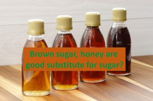 Are Brown sugar and honey healthier substitutes for sugar?