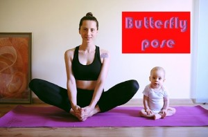 Butterfly Pose or Baddha konasana