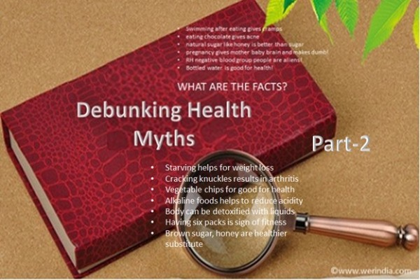 Debunking Health Myths - Part 2
