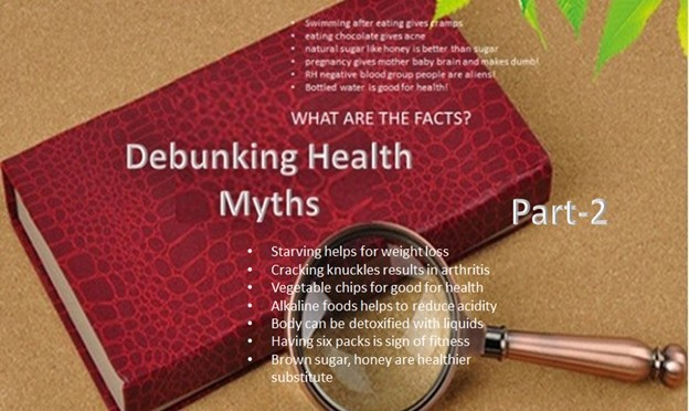 Debunking Health Myths - Part 2