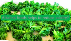 Do alkaline foods help to reduce acidity?
