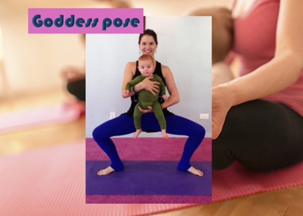 Goddess Pose or Deviasana