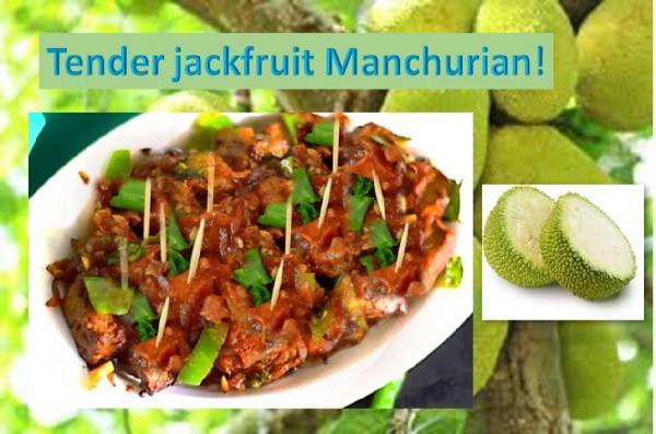 Jackfruit Manchurian