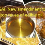 New amendment to stop reuse of edible oil