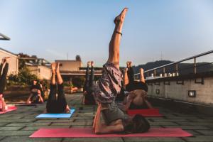 Yoga for bigger body