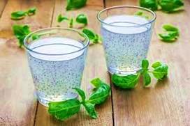 Basil Seed Water