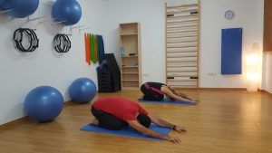 Restorative yoga for elders