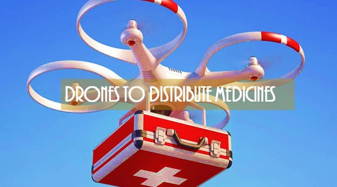 Drone in Medical technology
