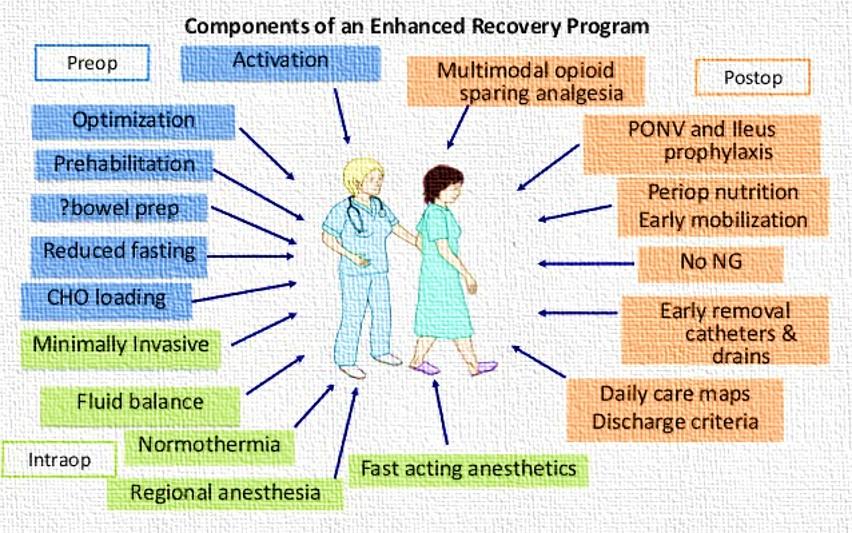 Enhanced Surgery recovery
